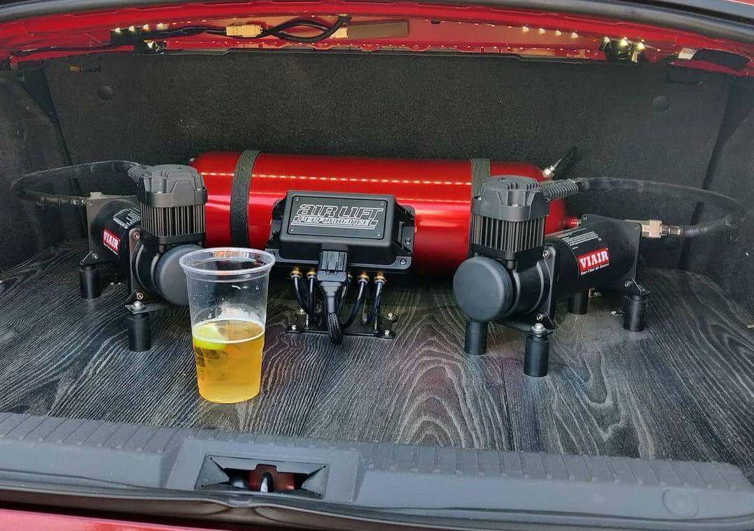 Toyota GT86 Air suspension