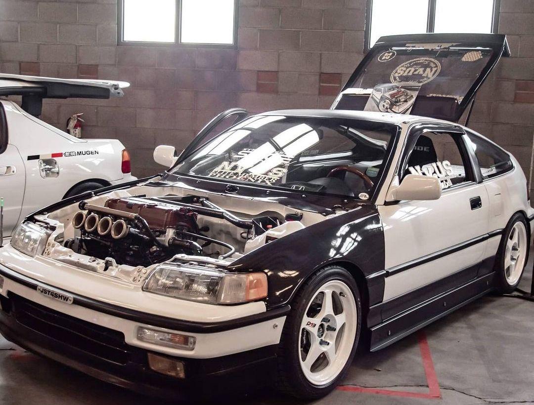 Modded 1991 Honda CRX
