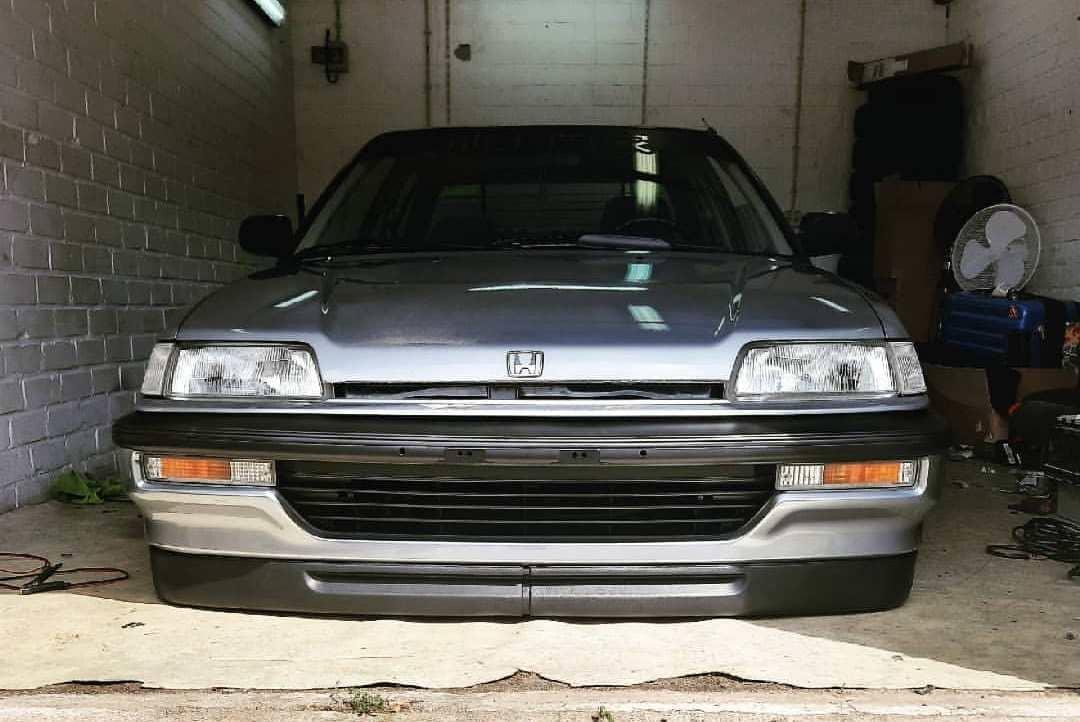 1990 Honda Civic Front End