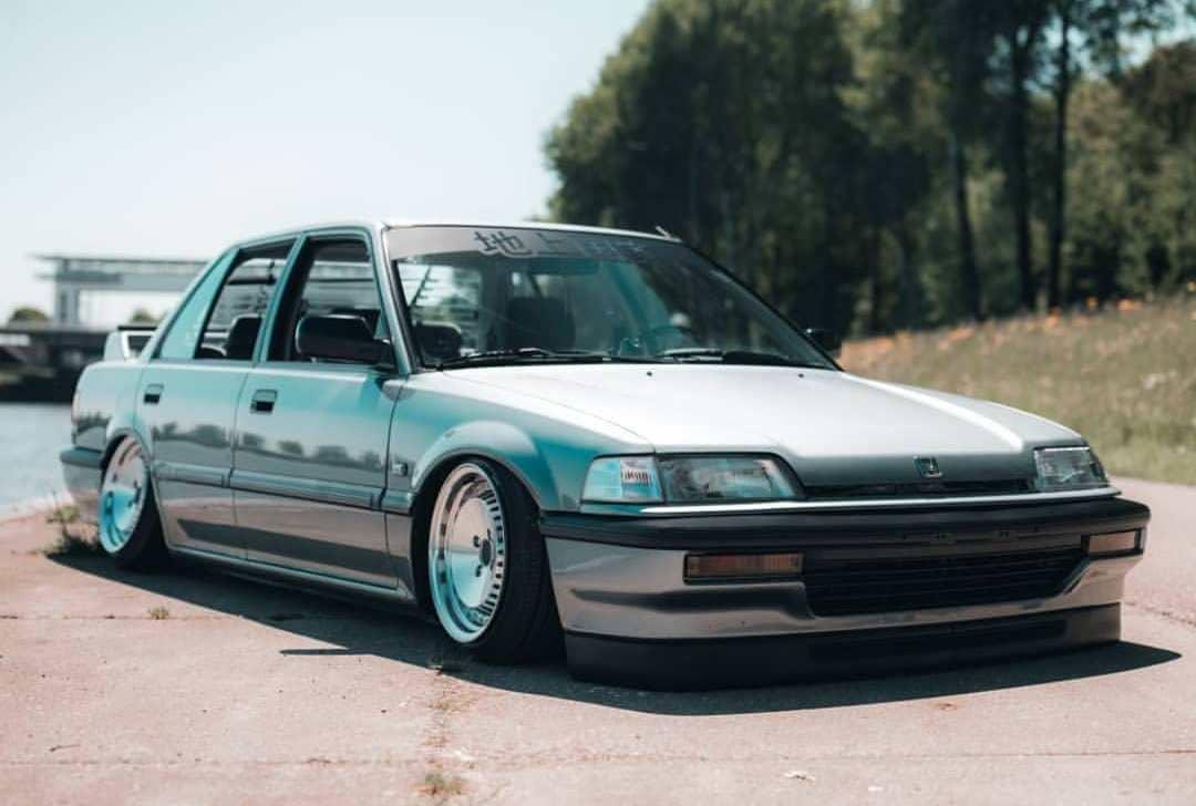 Modified 1990 Honda Civic