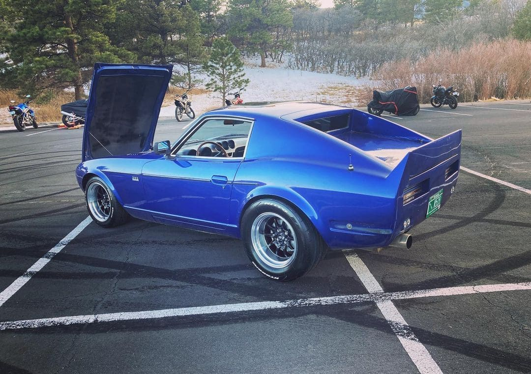 Datsun 240z With Rims