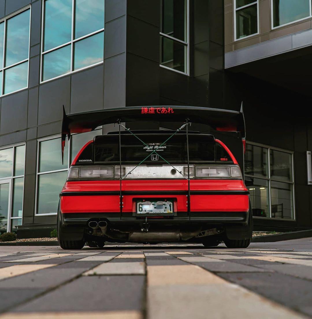 1990 Honda CRX SI Rear End