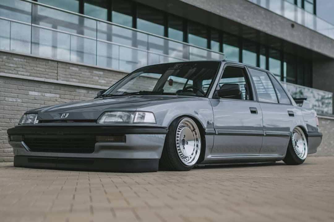 1990 Honda Civic On Air Suspension