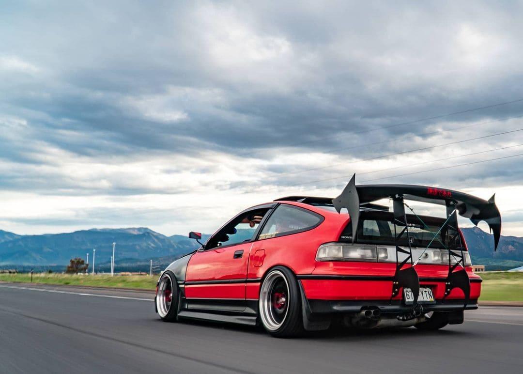 1990 Honda CRX SI Wing