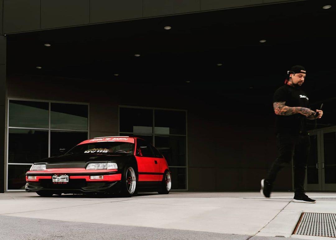 Custom 1990 Honda CRX SI