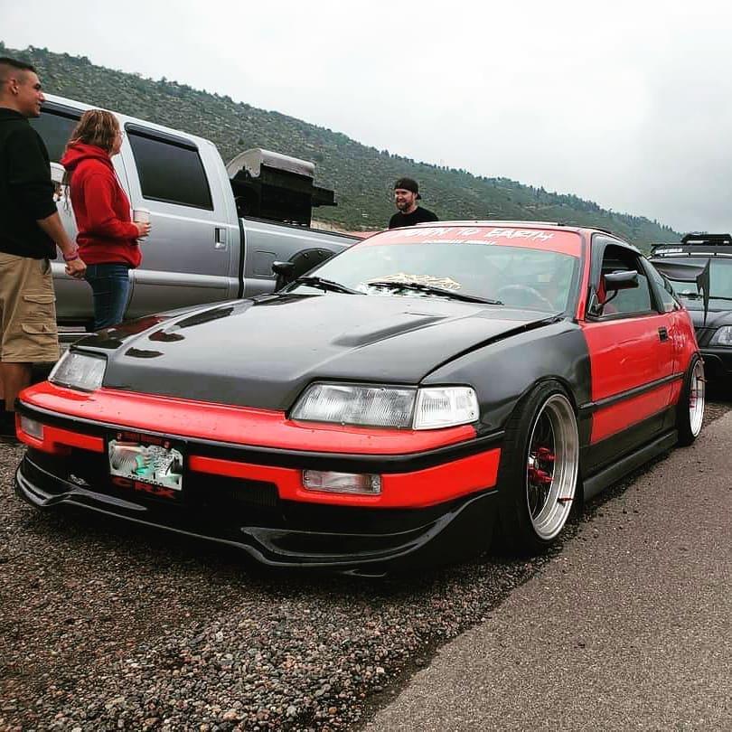 1990 Honda CRX SI Front lip