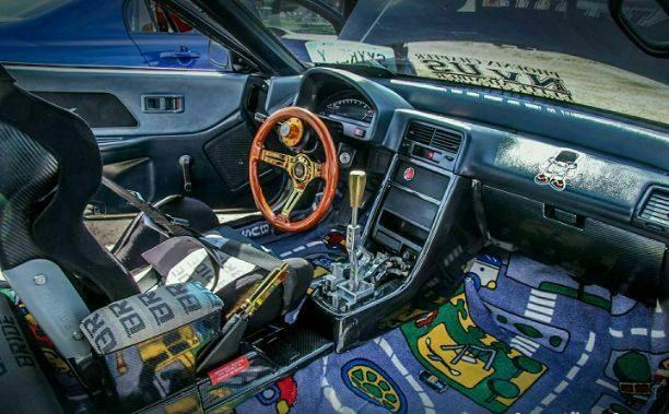 1991 Honda CRX Interior