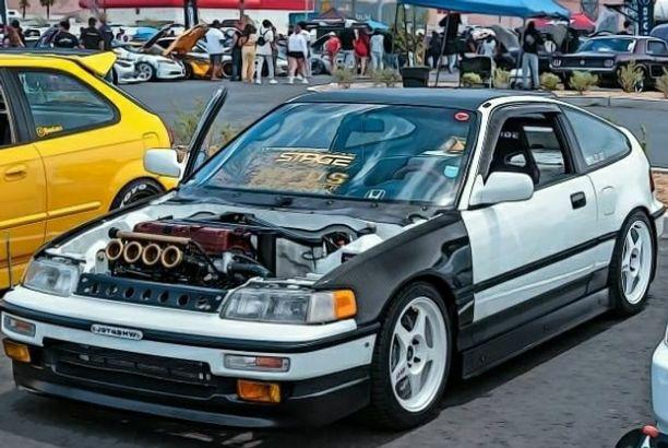 Modified 1991 Honda CRX