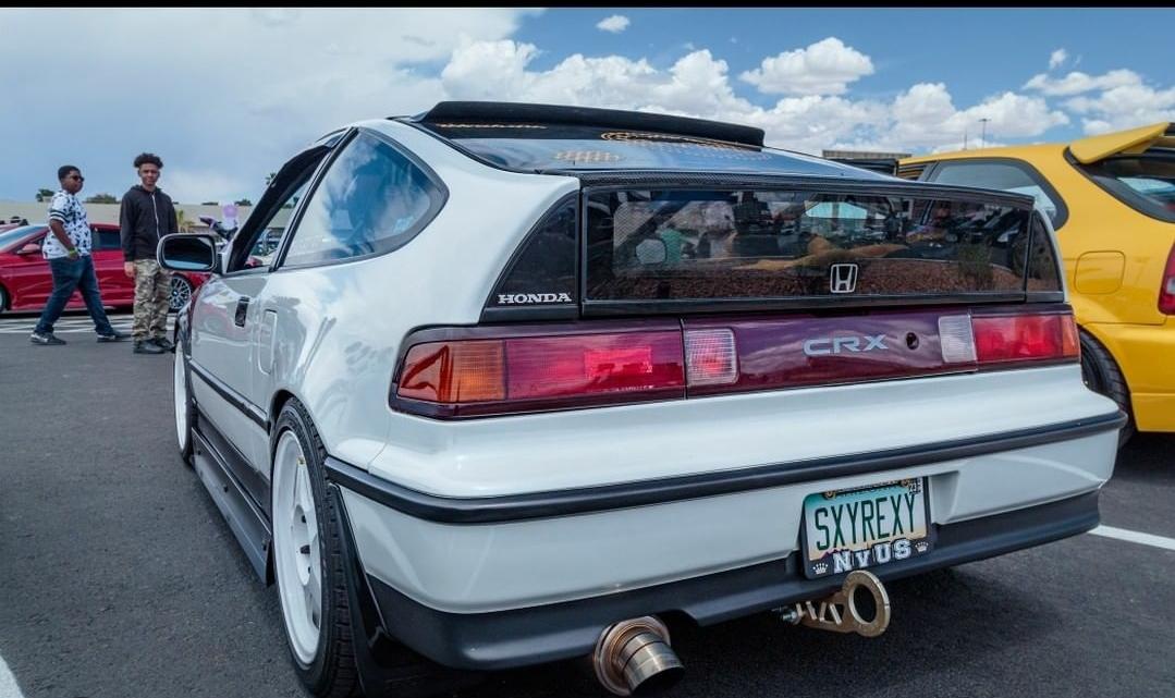 1991 Honda CRX Rear End